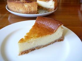 簡単♪しっとりなめらかなチーズケーキ♪