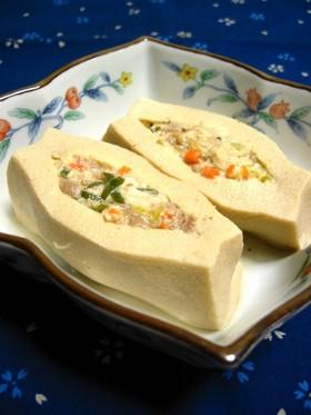 射し込み高野豆腐