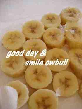 プリ☆彡おやつ 冷凍バナナも美肌がいい