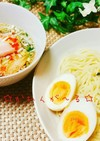 ♡ゆず胡椒醤油風味のつけ麺♡ざるラーメン