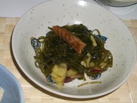 簡単柔らか☆すき昆布とサツマイモの煮物