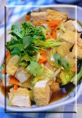 冷蔵庫の余り野菜で✿簡単!和風野菜炒め