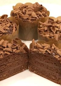 バレンタイン!本格チョコレートケーキプチ