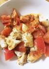 簡単 ささみとトマトのバジルチーズ♡