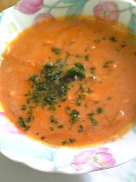 ☆美肌レシピ☆15分で豆乳トマトスープ☆