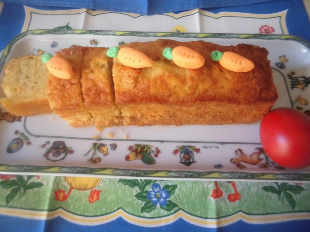 イースターのキャロットケーキ
