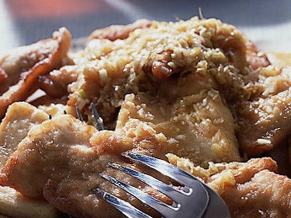 鶏肉と豆腐の竜田揚げ ねぎソースかけ