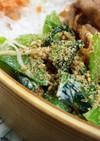 お弁当に♡小松菜とカニカマの胡麻マヨ和え