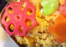 御弁当に☆レンジで簡単♡ピンクのレンコン