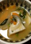 塩麹とお味噌で里芋の御汁
