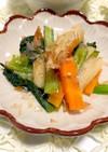 電子レンジで簡単☆小松菜とちくわの煮浸し