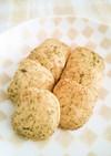ポリ袋で♪サクサク緑茶クッキー♪
