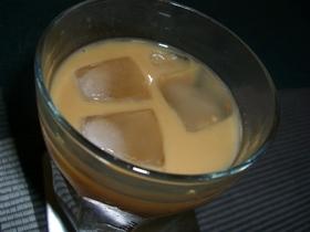 コーヒー牛乳で♪簡単カクテル
