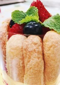 ミニシャルロットケーキ