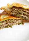 肉餅 ロウビン 中華風ミートパイ