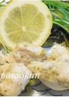 ムネ肉と水菜のレモンソテー