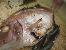 ※鯛の炊き込みご飯※