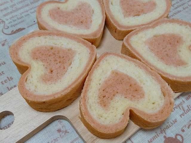 ハートが可愛い簡単イラストパン By Minto214