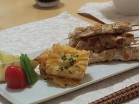お豆腐のチーズ焼き