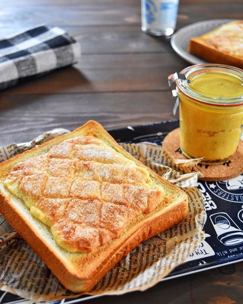 あさイチ・塗る メロンパントースト