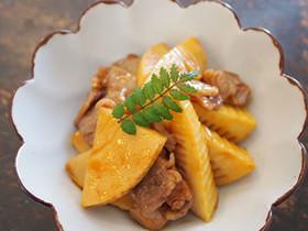 タケノコと豚肉の簡単♪煮物