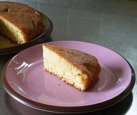 ホットケーキMIXで簡単フルーツケーキ