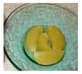 果汁のみの水分で作る紅玉のコンポート