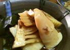 シンプルが一番!筍とワカメの出汁煮