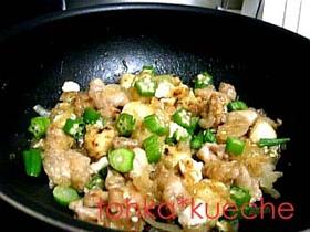 オナカ満腹!肉豆腐しょうが焼き