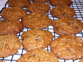 アメリカンレシピでオートミール・クッキー