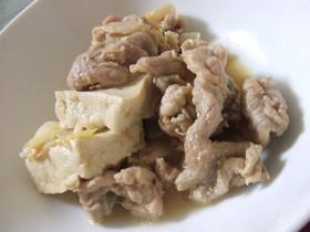 豚肉と豆腐の甘味噌煮❤