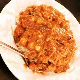 鯖の味噌煮缶トマトカレー