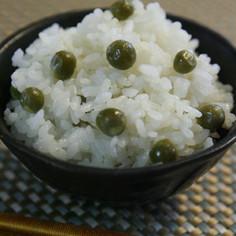 春だから♡豆ご飯♪塩味しっかりが美味しい