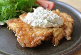 【米粉】チキン南蛮豆乳タルタルソース