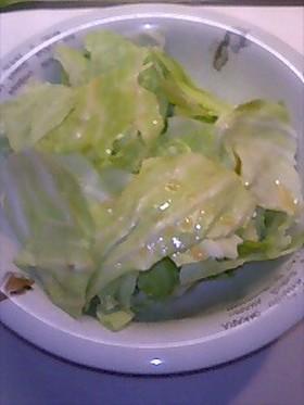 超簡単キャベツだけサラダ