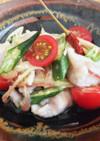 【米粉】豚肉と夏野菜のヘルシー南蛮漬け