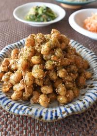 甘辛揚げ大豆(精進料理)