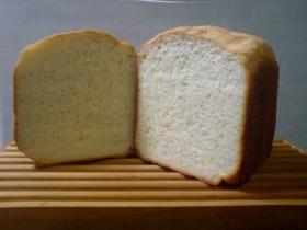 焼き上がりまでHB~牛乳食パン