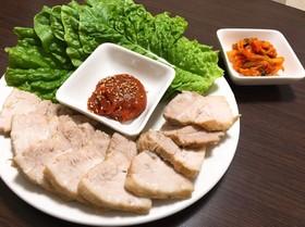 ポッサム 〜韓国風茹で豚〜