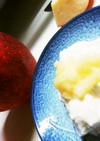 離乳食 すりおろしりんごヨーグルト