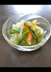 チンで簡単!春野菜マリネファースト