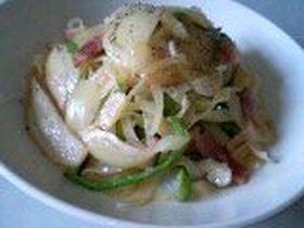 野菜たっぷりヘルシー豆乳カルボナーラ