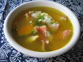 かぼちゃと冷凍赤魚のスープ煮
