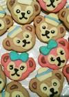 簡単☆かわいいクッキー☆ダッフィー