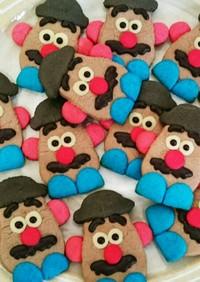 簡単☆かわいいクッキー☆ポテトヘッド