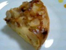 炊飯器でキャラメルシナモンアップルケーキ