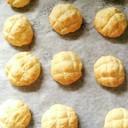 HMでメロンパン風クッキー