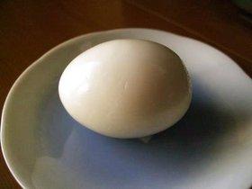 ☆裏技 絶対きれいに剥けるゆで卵☆