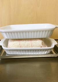 グラタン皿で、簡単時短、豆腐の水切り