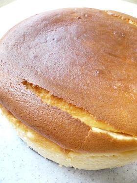 スフレチーズケーキ。